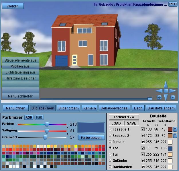3D Fassadengestaltung Garten Fassadengestaltung Front Fassadengestaltung Am  Berg Fassadengestaltung ...