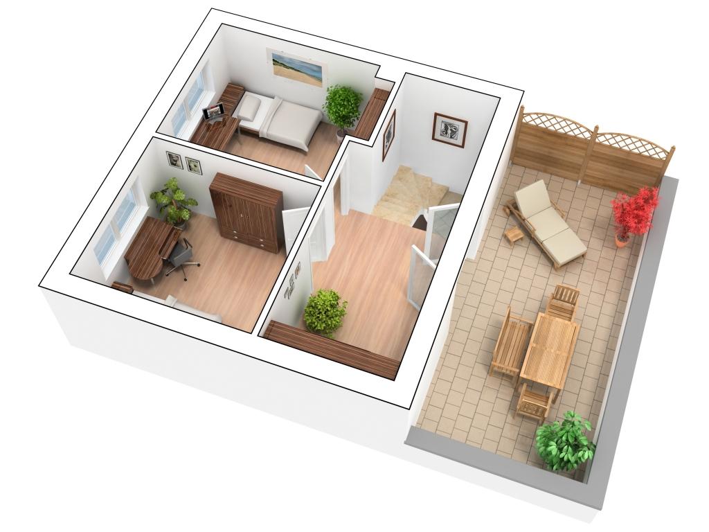 Grundriss erstellen for Wohnung 3d planer