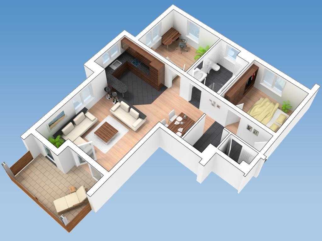 3d visualisierungen. Black Bedroom Furniture Sets. Home Design Ideas