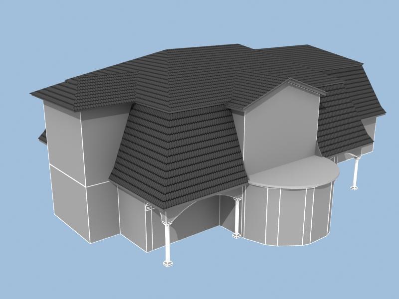Modernes 3d haus haus design m bel ideen und for Haus zeichnen 3d